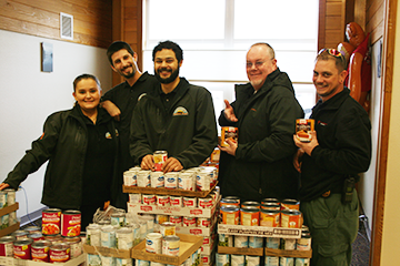 Kamilche Trading Post Holiday Food Drive